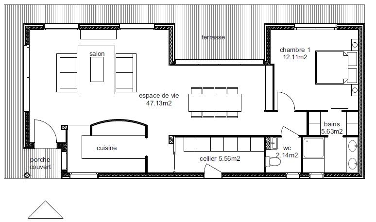 Plan Maison Ankaa 2-1