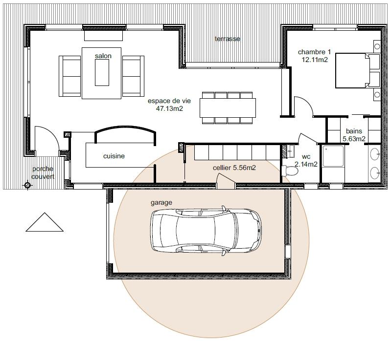 Plan Maison Ankaa 2-2