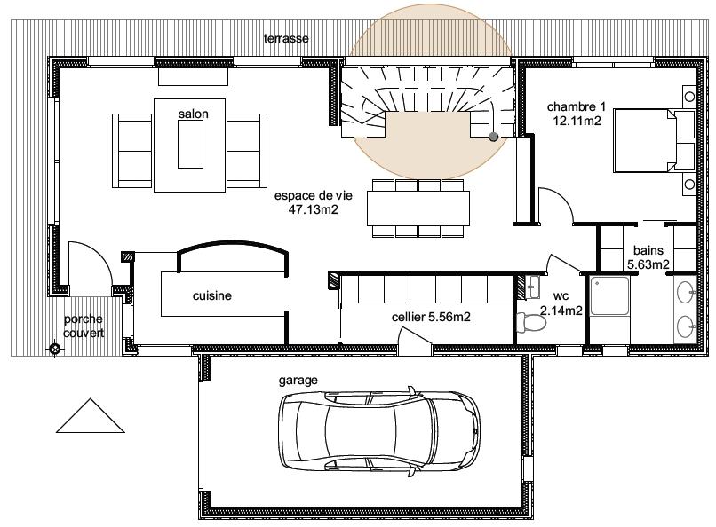 Plan Maison Ankaa 2-3