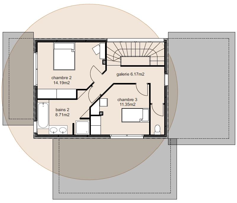 Plan Maison Ankaa 2-4