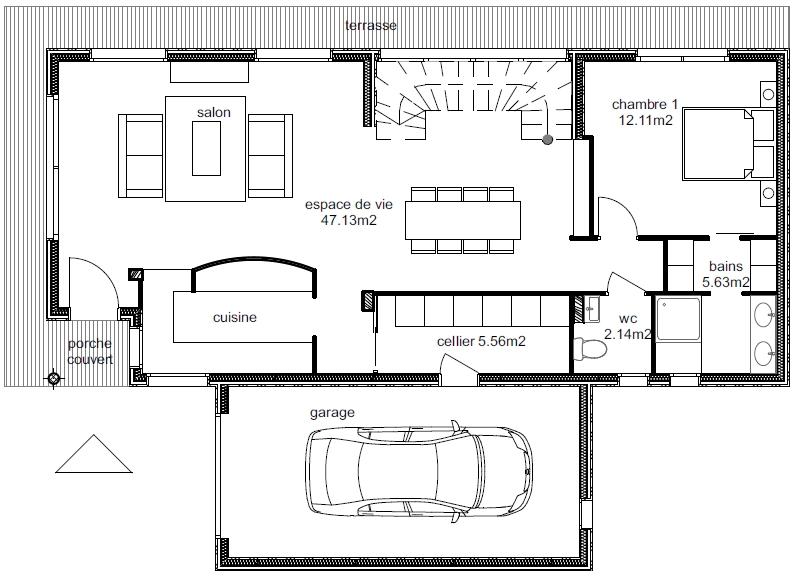 Plan Maison Ankaa 2-5