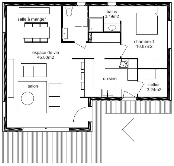 Plan Maison Adhara 3-1