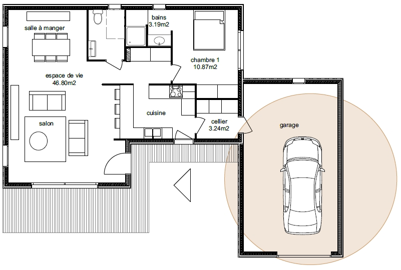 Plan Maison Adhara 3-2