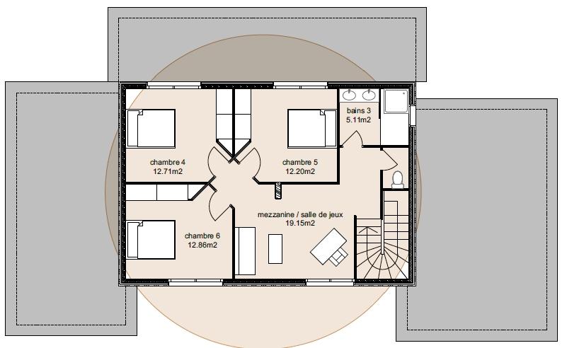 Plan Maison Adhara 3-6