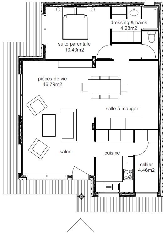 Plan Maison Athena 5-1