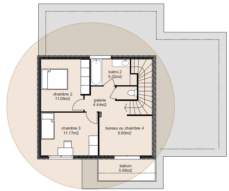 Plan Maison Athena 5-4