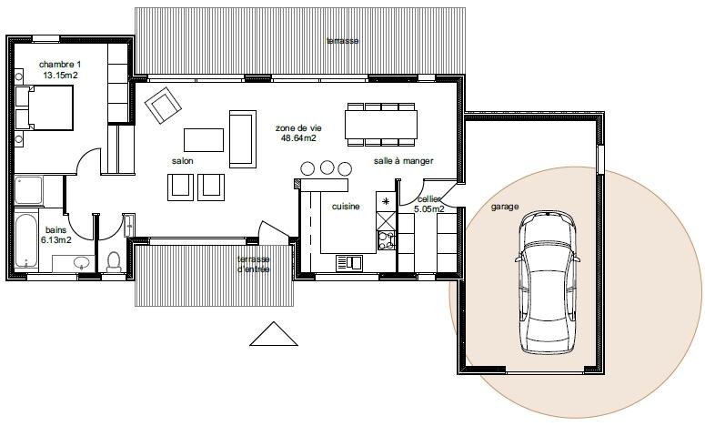 Plan Maison Aviora 6-2