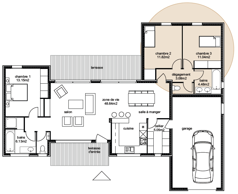 Plan Maison Aviora 6-3