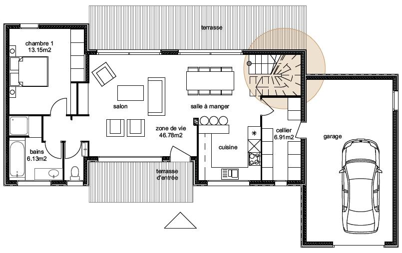 Plan Maison Aviora 6-4-1