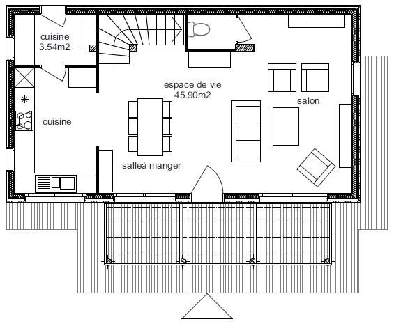 Plan Maison Atria 4-1