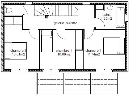 Plan Maison Atria 4-2