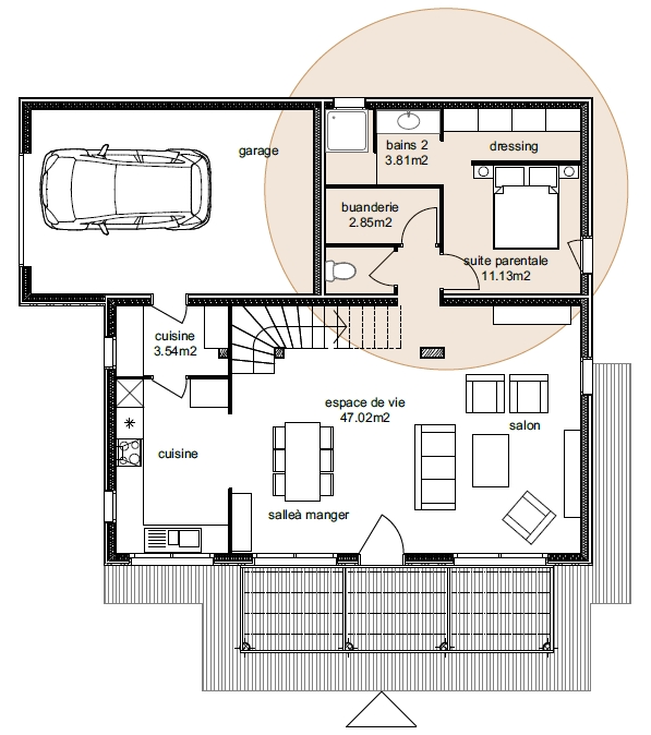 Plan Maison Atria 4-5