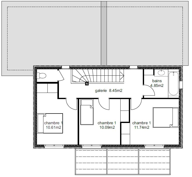 Plan Maison Atria 4-6