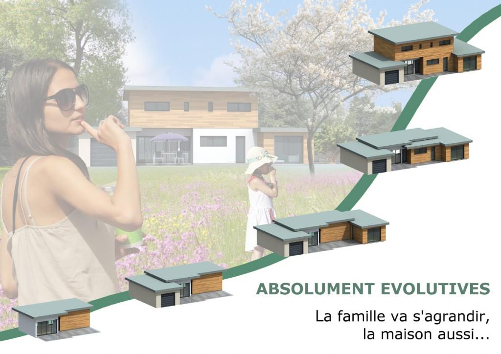Maison evolutive Amboise le concept